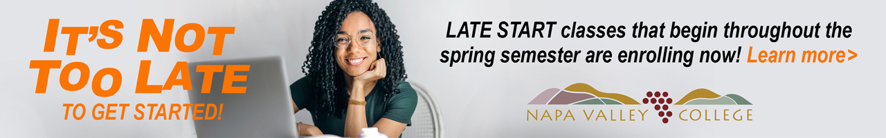 Sign up now for spring late start classes.
