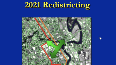 Cover of 2021 Redistricting presentation from County of Napa