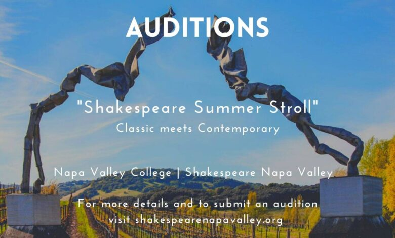 Shakespeare Auditions